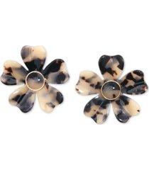 zenzii flower statement earrings