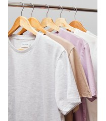 mens multi 5 pack assorted color t-shirt*
