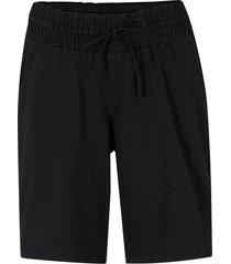 shorts di jersey in cotone biologico (nero) - bpc bonprix collection