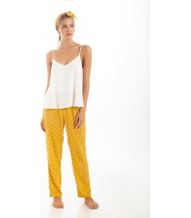 pantalon largo estampado1371001l estampado  options intimate