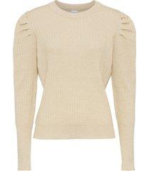maglione a coste (oro) - bodyflirt