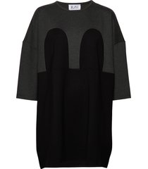 mickey square dress dresses everyday dresses grå r/h studio