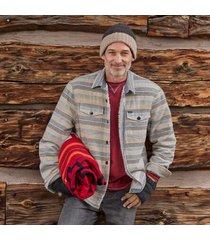 sundance catalog men's david solstice jacket in oatmeal large