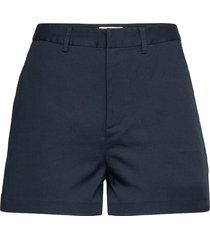'abott' organic cotton chino shorts shorts chino shorts blå scotch & soda