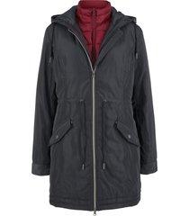 giacca con gilet 3 in 1 (nero) - bpc bonprix collection