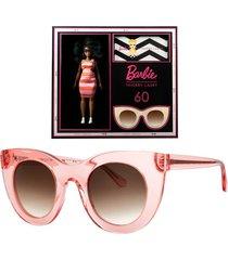 thierry lasry x barbie pink cat eye sunglasses
