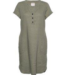 aminasspw dr knälång klänning grå part two