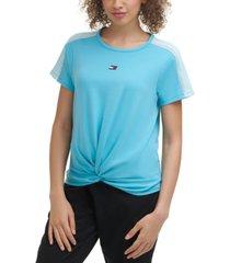 tommy hilfiger sport women's twisted t-shirt