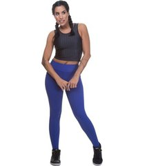 calça legging miss blessed montaria - azul royal - p