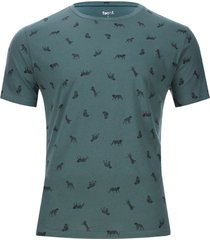 camiseta estampado tigres