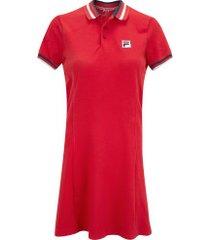 vestido fila 70 - adulto - vermelho