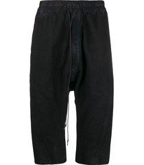 isaac sellam experience drop-crotch shorts - blue