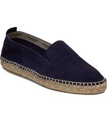 espadrille flat sandaletter expadrilles låga blå ilse jacobsen