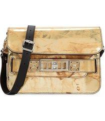 proenza schouler women's mini ps11 classic spatolato leather shoulder bag - spatolato
