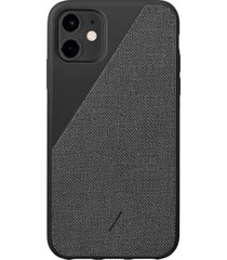 clic canvas iphone 11 case - black