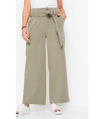 broek met hoge tailleband