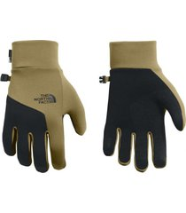 guantes etip beige the north face