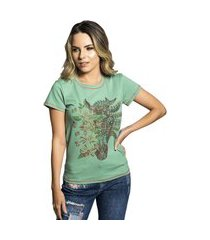 t-shirt miss country alquimia verde