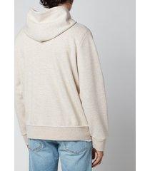 polo ralph lauren men's double knitted full zip hoodie - expedition dune - xxl