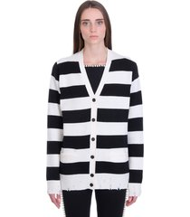 marc jacobs cardigan in white wool