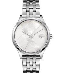 lacoste women's stainless steel bracelet watch 38mm