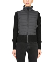 parajumpers down jacket with knit details