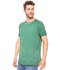 camiseta handbook candido verde - verde - masculino - algodã£o - dafiti