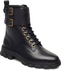 ridley ankle boot shoes boots ankle boots ankle boot - flat svart michael kors