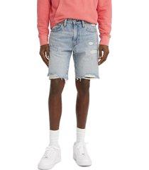 men's big & tall levi's 217(tm) slim fit denim shorts, size 44 - blue