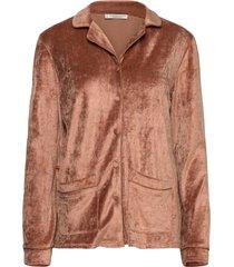 sophie shirt pyjamas brun underprotection