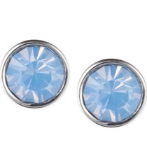 lonna & lilly glass stone stud earrings