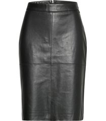 lizen l knälång kjol svart tiger of sweden jeans