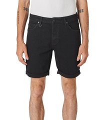 neuw denim ray cuffed slim fit shorts, size 29 in evolve organic at nordstrom