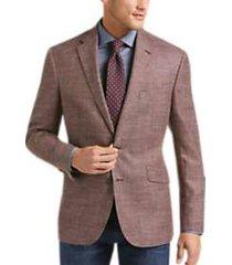 joseph abboud limited edition rust tic modern fit sport coat