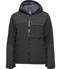 deepsteep jacket m outerwear sport jackets zwart salomon