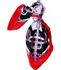 pañuelo bandana hebillas negro viva felicia
