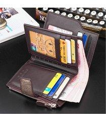 billetera super- billetera para hombres, vertical,-dorado