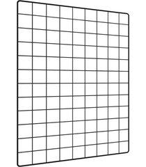 memory board l3 store quadro de fotos preto - 65cm x 45cm + 6 mini prendedores - preto - dafiti