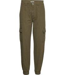 camilo pant awn casual broek groen iben