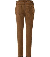 jeans model cadiz van high-flex-denim van brax feel good geel