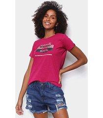 camiseta ecko red stripes feminina - feminino