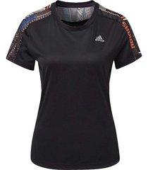 t-shirt korte mouw adidas own the run urban t-shirt