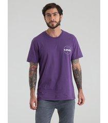 camiseta morado levis