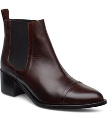 biacarol dress chelsea shoes boots ankle boots ankle boots with heel brun bianco