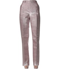 dsquared2 lurex silk pants