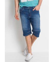 stretch jeans bermuda met comfort belly fit
