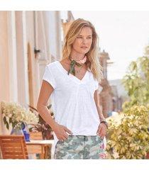 genexus intl inc women's everyday essential t-shirt by sundance in bluequartz xs