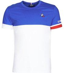 t-shirt korte mouw le coq sportif tri tee ss n°1 m
