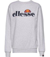 el agata sweatshirt sweat-shirt tröja grå ellesse