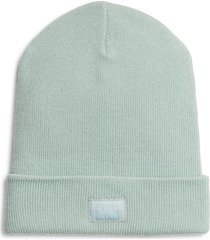 women's rag & bone addison merino wool beanie - green